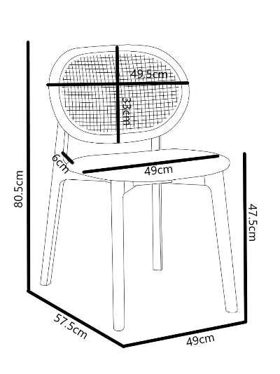 John Lewis & Partners Beckett Cane Dining Chair, FSC Certified FSC Certified (Beech Wood)