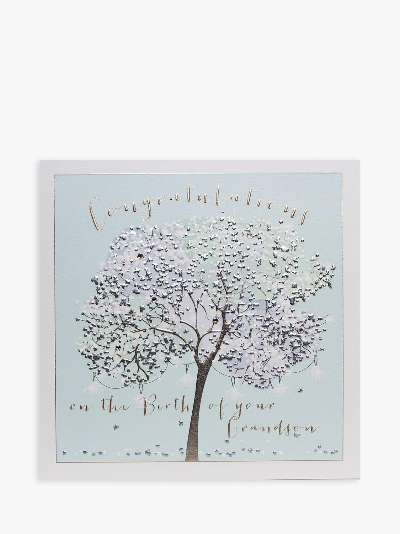 Belly Button Designs Tree Lovely Wife Christmas Card