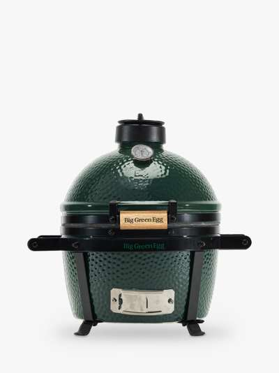 Big Green Egg MiniMax BBQ with ConvEGGtor & Cover