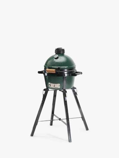 Big Green Egg MiniMax BBQ with ConvEGGtor, Foldable Stand & Cover