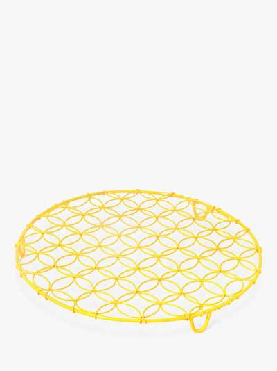BlissHome Nadiya Hussain Round Cooling Rack, 30cm, Yellow