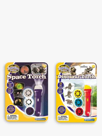 Brainstorm Space & Dinosaur Projector Torches