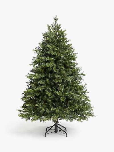 John Lewis & Partners Brunswick Spruce Unlit Christmas Tree, 7ft