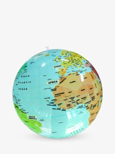 CALY Political World Inflatable Globe