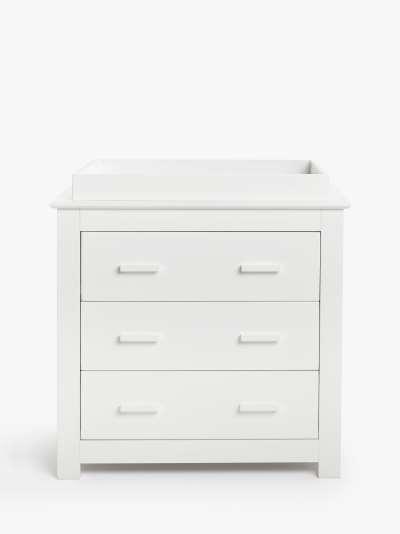 John Lewis & Partners Charlotte Dresser, White