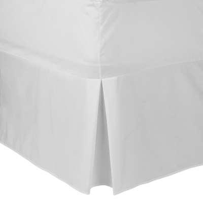 John Lewis & Partners Crisp & Fresh 200 Thread Count Egyptian Cotton Centre Pleat Valance Sheet