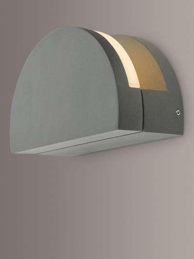 Där Adyson LED Outdoor Wall Light, Anthracite