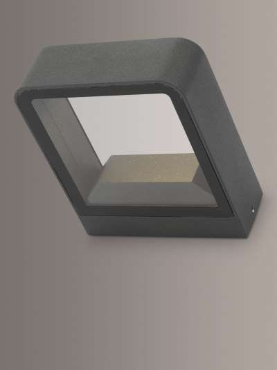 Där Malone LED Outdoor Wall Light, Anthracite