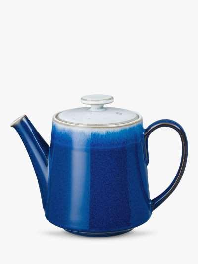 Denby Blue Haze Teapot, 1.2L