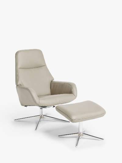 Design Project by John Lewis No.122 Reclining Chair with Footstool