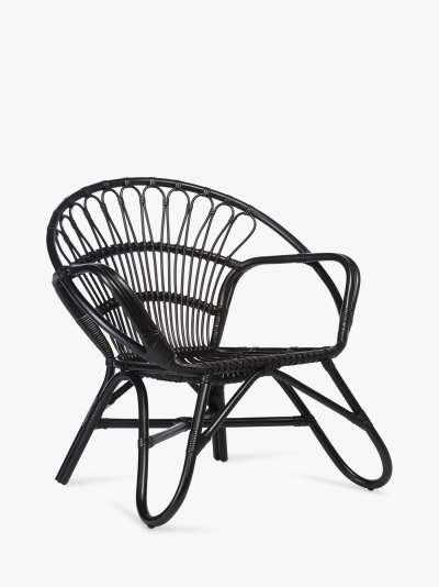 Desser Nordic Rattan Cane Lounge Chair
