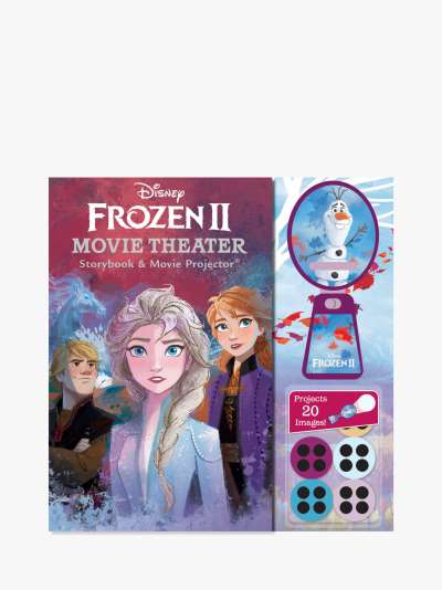 Disney Frozen II Movie Theatre Storybook & Movie Projector