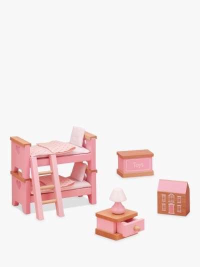 John Lewis & Partners Doll's House Bedroom Furniture