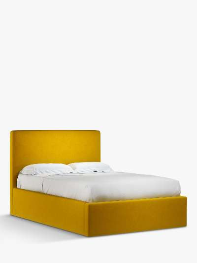 John Lewis & Partners Emily Ottoman Storage Upholstered Bed Frame, Double