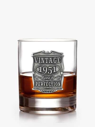 English Pewter Company Vintage Years Whisky Tumbler