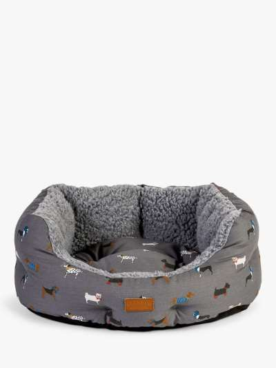 FatFace Marching Dogs Slumber Dog Bed