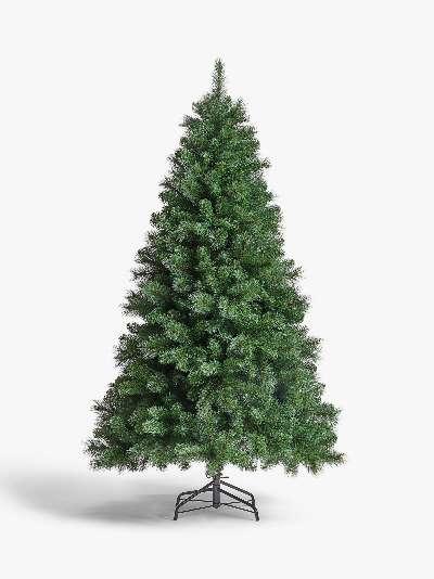 John Lewis & Partners Fireside Unlit Christmas Tree, 6ft