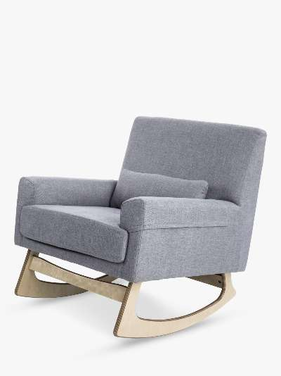 Gaia Baby Serena Nursing Rocking Chair, Dove Grey