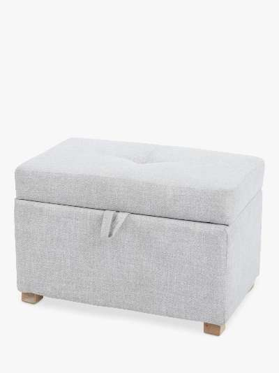 Gaia Baby Serena Ottoman Footstool, Oat
