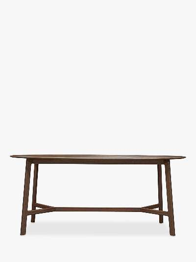 Gallery Direct Madrid 6 Seater Oval dining Table, Walnut