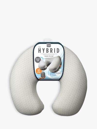 Go Travel Hybrid Memory Foam Pillow
