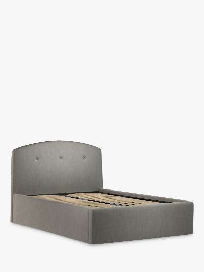 John Lewis & Partners Grace Ottoman Storage Upholstered Bed Frame, Double