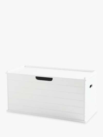 Great Little Trading Co Large Classic Toy Box, White