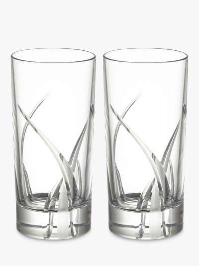 John Lewis & Partners Grosseto Cut Crystal Glass Wine Decanter, 900ml, Clear
