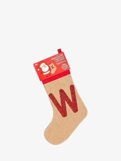 Harrow & Green Make Your Own Initialled Christmas Stocking