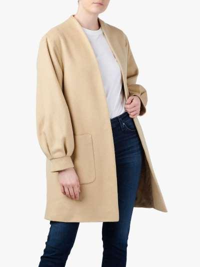 Helene For Denim Wardrobe Judy Tweed Jacket, White/Black