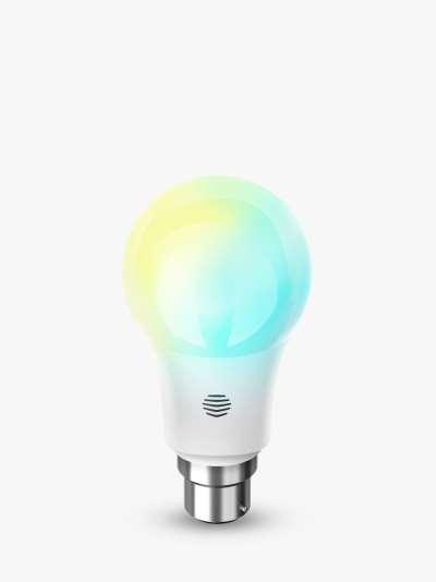 Hive Active Light Cool to Warm White Wireless Lighting LED Light Bulb, 9W A60 B22 Bayonet Bulb, Single