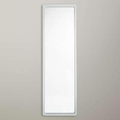 John Lewis & Partners Rounded Full Length Mirror, 144 x 44cm, White