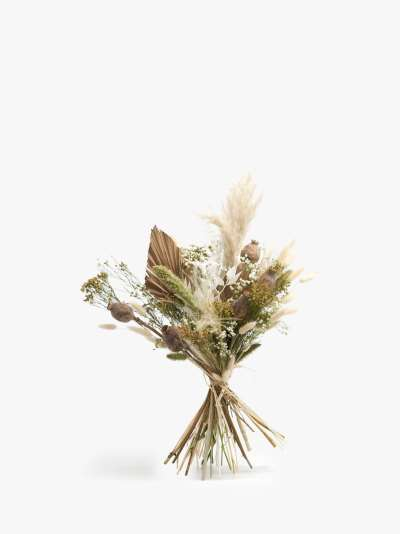 Ixia Flowers Luxury Whites Dried Flowers