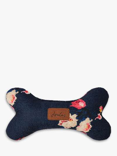 Joules Floral Bone Dog Toy