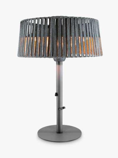 KETTLER Kalos Plush Table Top Electric Patio Heater, Grey