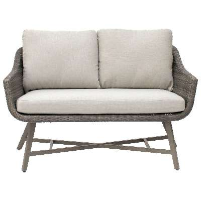 KETTLER LaMode 2-Seater Garden Lounging Sofa with Cushions