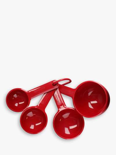 KitchenAid Nesting Measuring Cups, Set of 4, Red