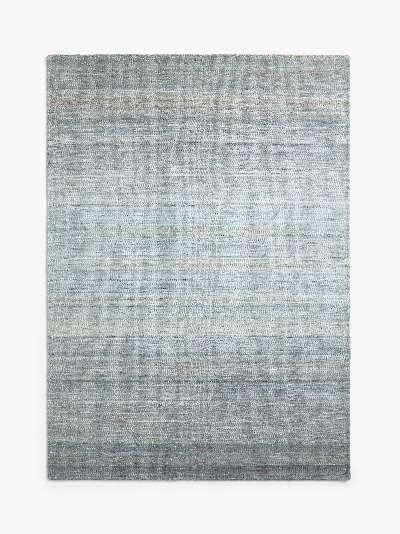 John Lewis & Partners Kobina Flatweave Rug, Blue, L200 x W300 cm