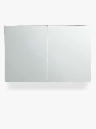 John Lewis & Partners Large Double Mirror-Sided Bathroom Cabinet