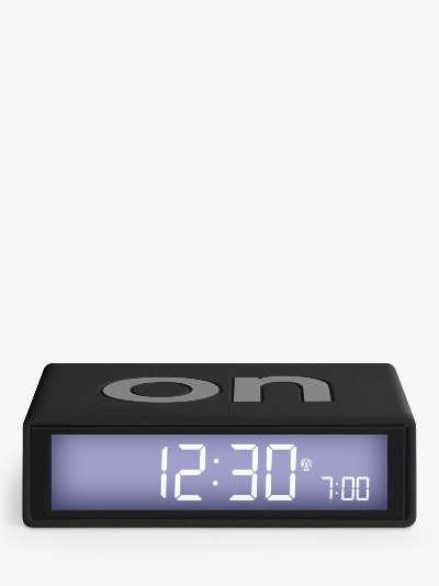 Lexon Flip Digital Alarm Clock