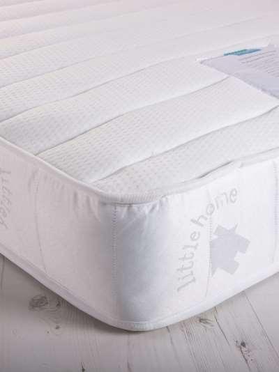 little home at John Lewis 15cm Deep Pocket Spring Water Resistant Bunk Bed Mattress, Medium, Single