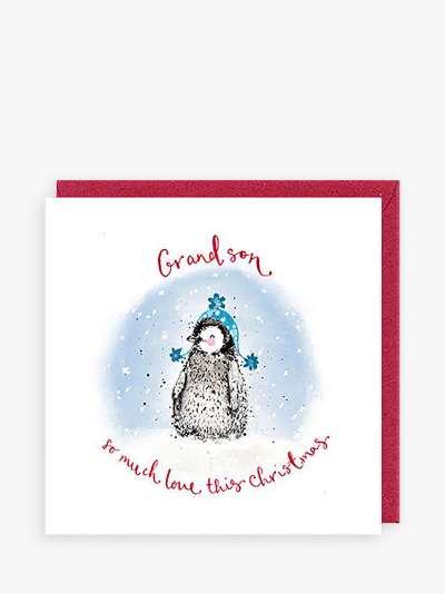 Louise Mulgrew Designs Polar Bears Dad Christmas Card