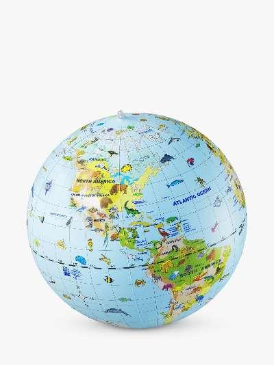 National Geographic Inflatable Animal Globe