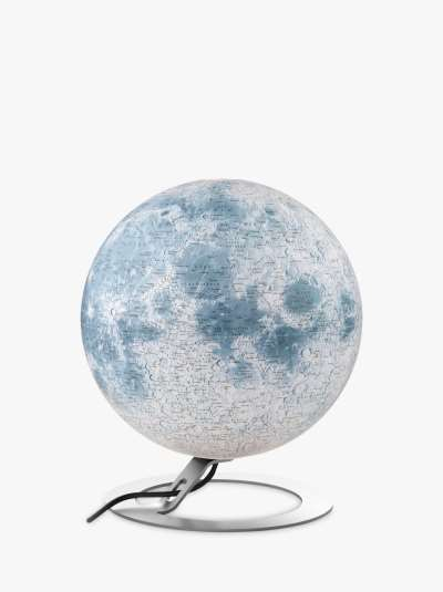 National Geographic The Moon Globe, White, 30cm