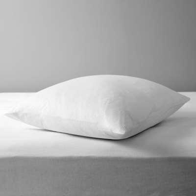 John Lewis & Partners Natural Cotton Square Pillow Liners, Pair
