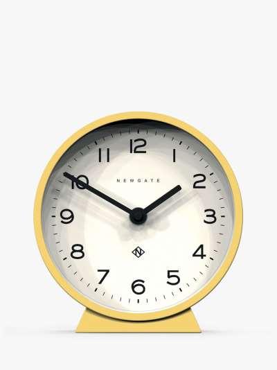 Newgate Clocks Silent Sweep Analogue Mantel Clock, 16cm