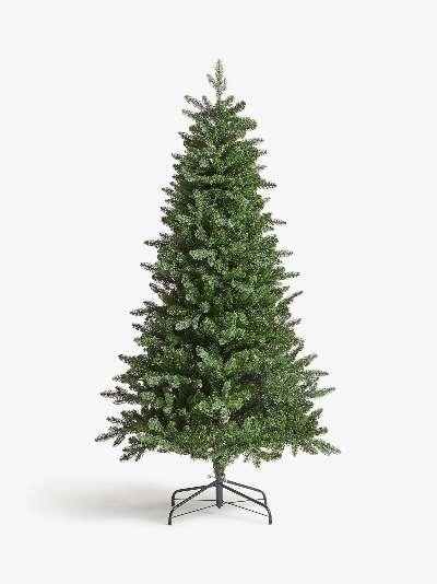 John Lewis & Partners Newington Pre-lit Christmas Tree, 6ft