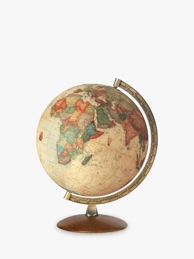 Nova Rico Antiquus Globe, Brown, 30cm