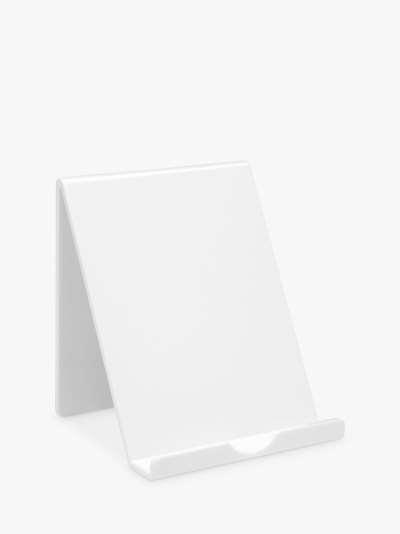 Osco Tablet Holder, White
