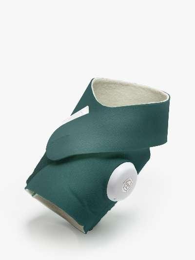 Owlet Smart Sock 3 Baby Monitor, Deep Sea Green